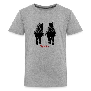 Kaltblut Duo - Teenager Premium T-Shirt