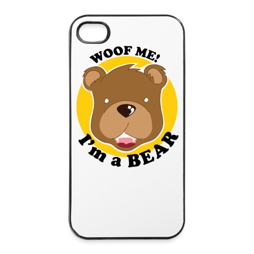 Coque WOOF IPhone 4 4S - Coque rigide iPhone 4/4s