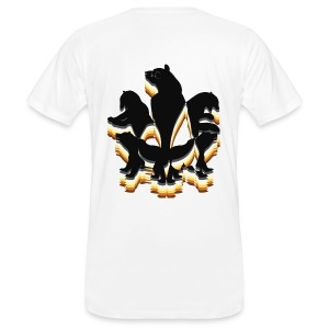 5 ours dos - T-shirt bio Homme