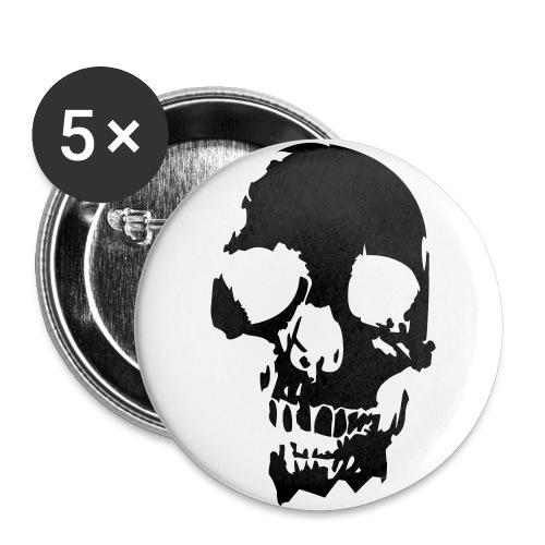 badge (tête de mort) - Badge grand 56 mm