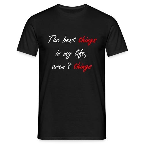 Best things white - Camiseta hombre