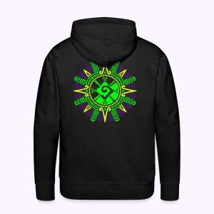 Moonstone Hunab Ku - UV Active Men Hoodie - Mannen Premium hoodie