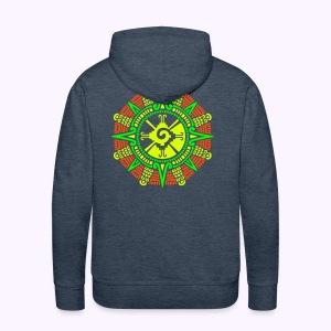 Moonstone Hunab Ku Back Print Men's Hoodie - Mannen Premium hoodie