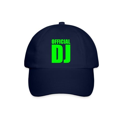 Sei un dj uficiale donna/uomo - Cappello con visiera