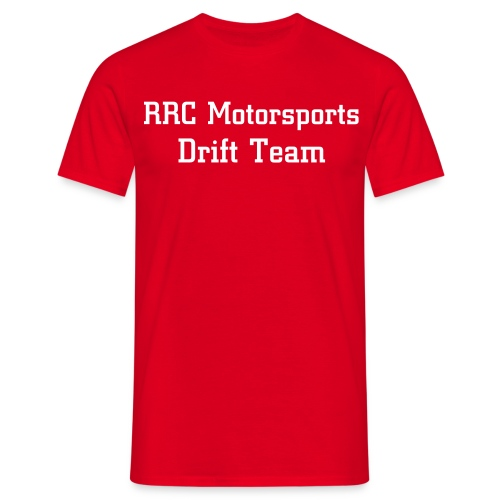 RRC Shirt Red - Mannen T-shirt
