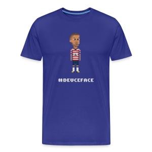 Men T-Shirt - DeuceFace - Men's Premium T-Shirt