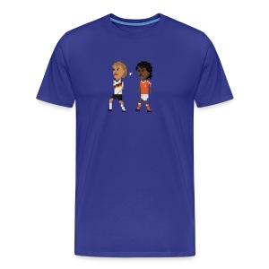 Men T-Shirt - Spitting - Men's Premium T-Shirt