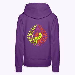 Hunab Ku DNA Tree - UV Active - Women Hoodie - Vrouwen Premium hoodie