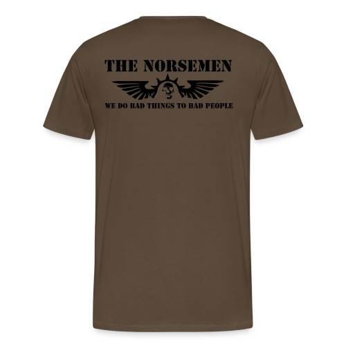 The Norsemen - Herre premium T-shirt