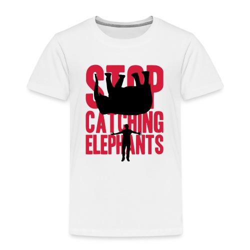 Stop Catching Elefants - Kinderen Premium T-shirt
