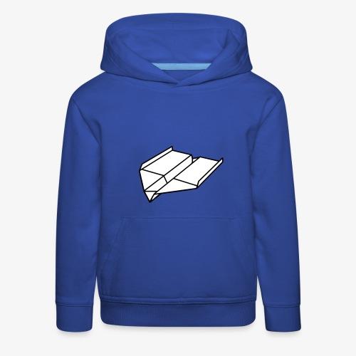 Origami Papierflieger Pullover & Hoodies - Kinder Premium Hoodie