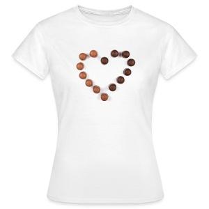 Süße Küsschen - Frauen T-Shirt