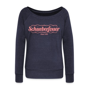 NEW // Schueberfouer 2013 / Boat Neck - Women's Boat Neck Long Sleeve Top