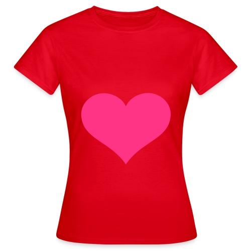 PinkHerz - Frauen T-Shirt