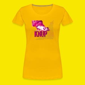 Sterne Flammen Auto KNUP, mehr geht nicht - PunkSIE - Frauen Premium T-Shirt