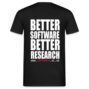 Better Software Better Research - Men's T-Shirt