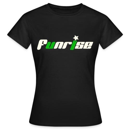 Fan-Shirt Girl schwarz - Druck vorne - Frauen T-Shirt