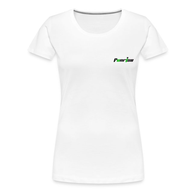 Fan-Shirt Girl weiß - Druck beidseitig