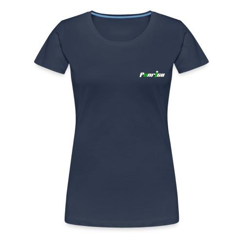 Fan-Shirt Girl navy - Druck beidseitig - Frauen Premium T-Shirt