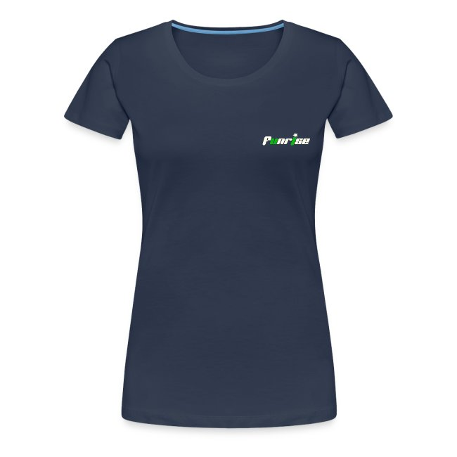 Fan-Shirt Girl navy - Druck beidseitig