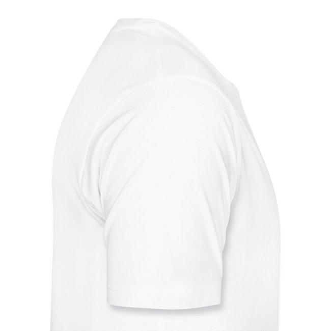 Fan-Shirt Man weiß - Druck beidseitig