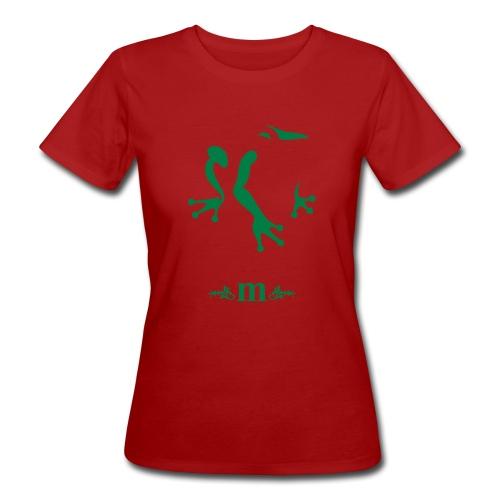 Frosch, Damen - Frauen Bio-T-Shirt