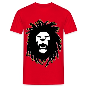 Lion RastaLocks - T-shirt Homme