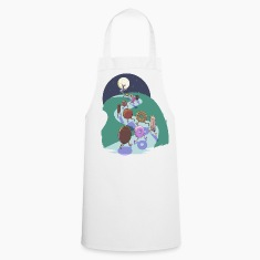 Pied Piper of biscuits  Aprons