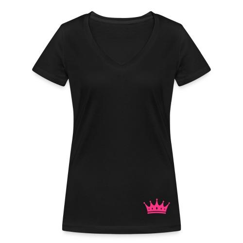 'PINK QUEEN' - Vrouwen bio T-shirt met V-hals van Stanley & Stella