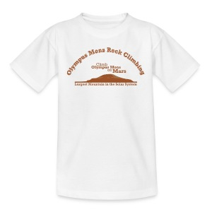 Olympus Mons Rock Climbing  - Kids' T-Shirt