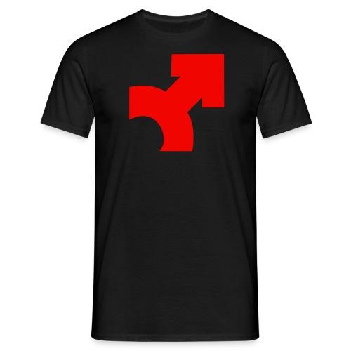 SE T-Shirt Standard LMC Pfeil Leuchtrot - Männer T-Shirt