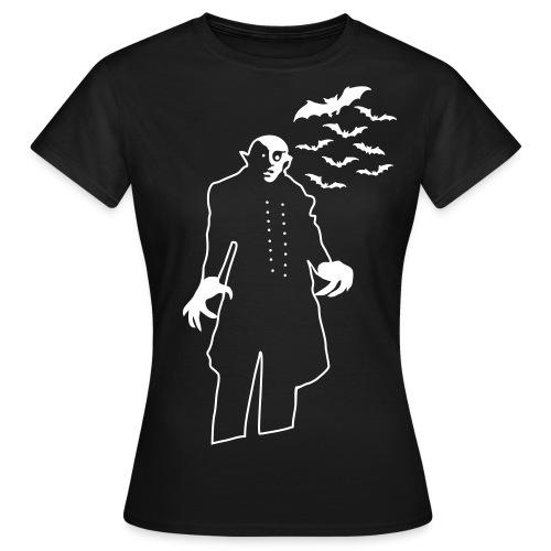 Nosferatu into darkness - Women's T-Shirt