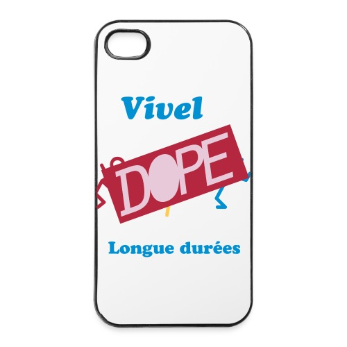 Coque IPhone 4/4s  Vivel  - Coque rigide iPhone 4/4s