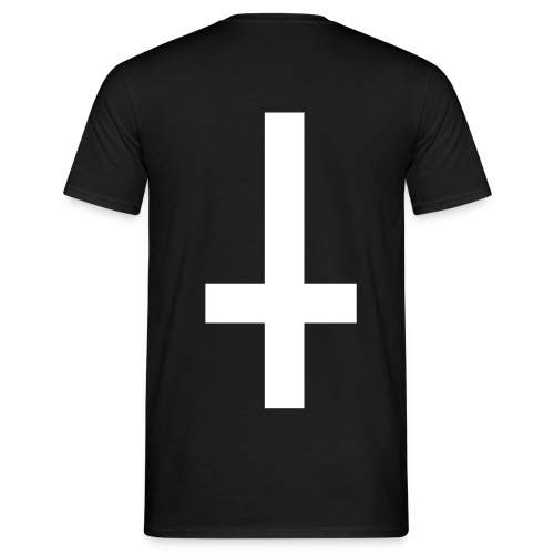 Inverted Cross - Men's T-Shirt
