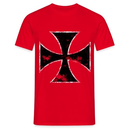 Iron Cross Blood - Men's T-Shirt