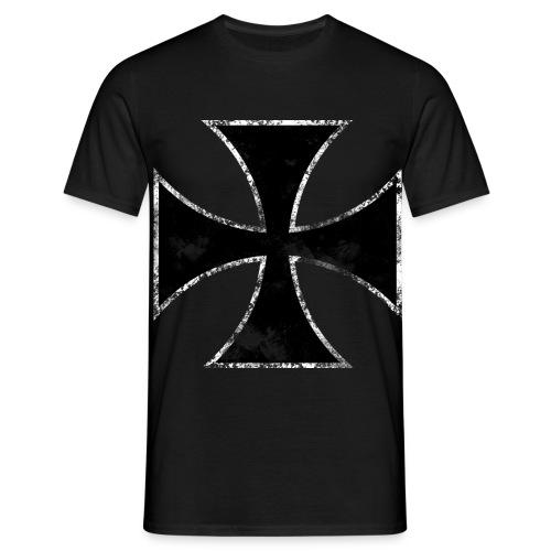 Iron Cross Darkness - Men's T-Shirt