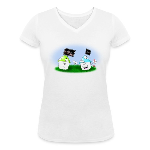 Little Fun Guy (woman) - T-shirt bio col V Stanley & Stella Femme