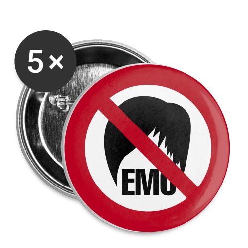 EMO NOT ALLOWED - Confezione da 5 spille media (32 mm)