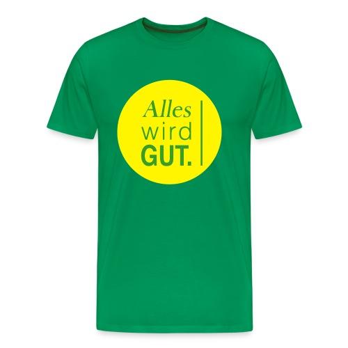 Alles wird gut. - Männer Premium T-Shirt