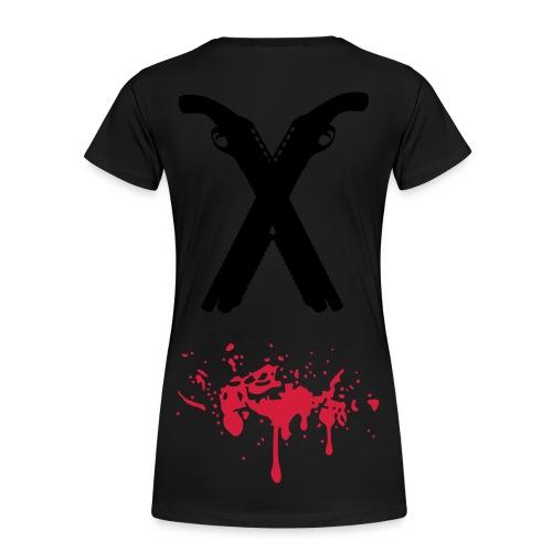 Rule #2 Double Tap - Women's Premium T-Shirt