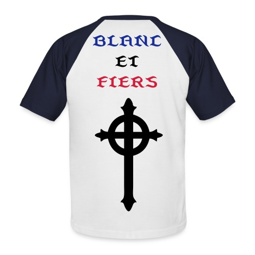 France/fiers - T-shirt baseball manches courtes Homme