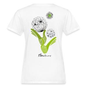 tee-shirt femme Bio mains oxymores - T-shirt bio Femme