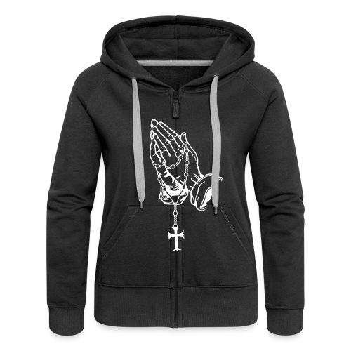 ONLY GOD CAN JUDGE ME  - Women's Premium Hooded Jacket