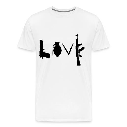 Love Guns - Männer Premium T-Shirt