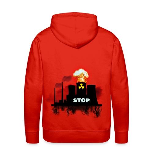 nucleaire pull - Sweat-shirt à capuche Premium pour hommes