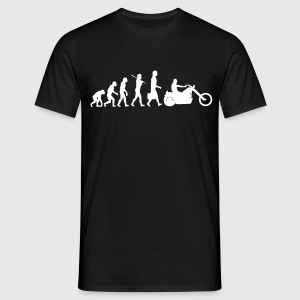 Evolution Chopper - Männer T-Shirt