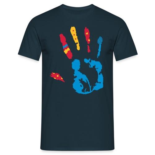 creativ hands - Männer T-Shirt