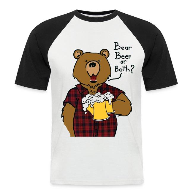 T-shirt gros logo bear and beer