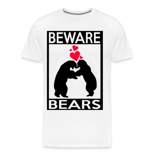T-shirt Beware bears - T-shirt Premium Homme