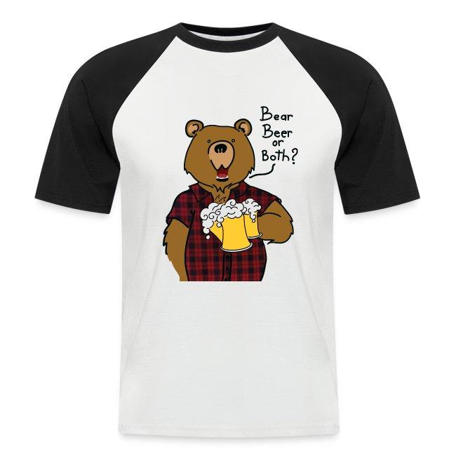 T-shirt bear and beer
